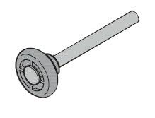 Laufrolle Typ G  (Gleitlager) passend zu Hörmann Garagen
