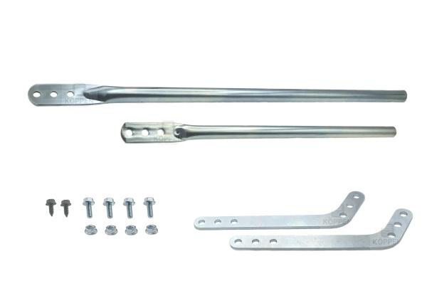 Tormitnehmer VLM 3 verlängerbar für Sturzversatz bis 3700 mm
