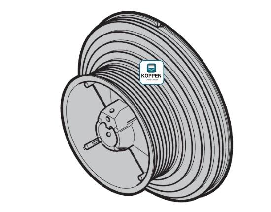 Seiltrommel Größe 4 rechts passend zu Hörmann Industrie-