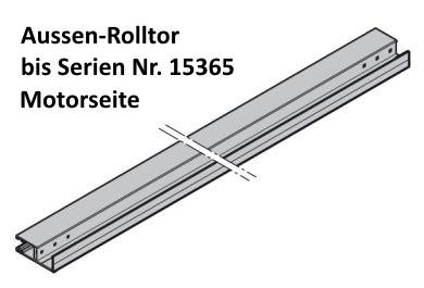 Führungsschiene komplett für Hörmann RollMatic
