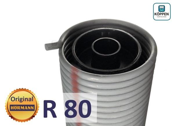 Hörmann Torsionsfeder R80 mit Kunststoffrohr und Spannkonus