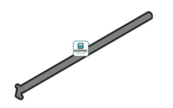 Zugstange bei Hand-Rolltor Paket passend zu