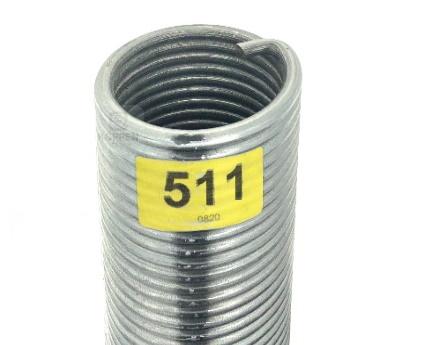 Novoferm Torsionsfeder 511 rechte Wicklung R50-50-565