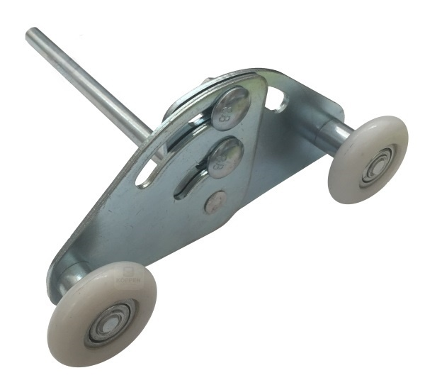 Laufrolle Tandemlaufrolle Achse 11 mm Achslänge: +/- 145 mm