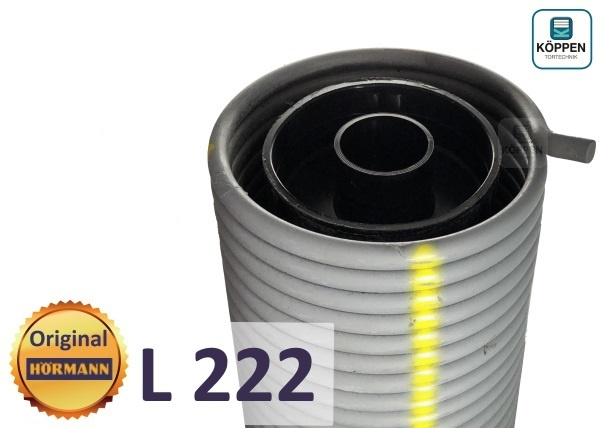 Hörmann Torsionsfeder L 222 passend für Industrie Sectional