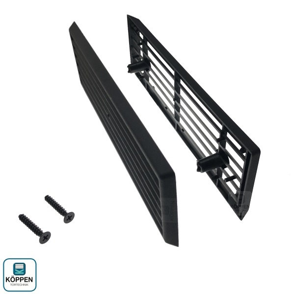 l ftungsgitter zu epu 40 20 mm passend zu h rmann h rmann ersatzteile g nstig f r tore und mehr. Black Bedroom Furniture Sets. Home Design Ideas