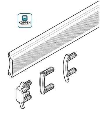 Rolltorprofil Decotherm® S passend zu Industrie Rolltor