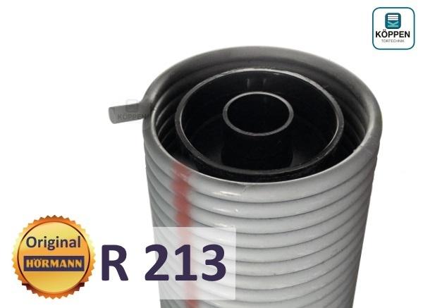 Hörmann Torsionsfeder R213 mit Kunststoffrohr und Spannkonus