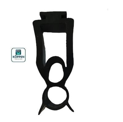 Bodengummi mit Mittelaufnahme Länge : +/- 3530 mm für Opto-