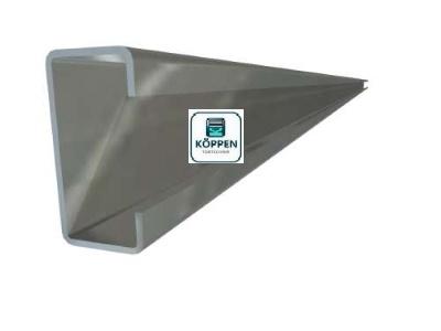 C-Schiene oder C-Profil verzinkt L= +/- 4900 mm zur