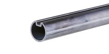 Welle (Torsionsfederwelle) 40 × 3 mm mit Nut L=: +/- 1830 mm