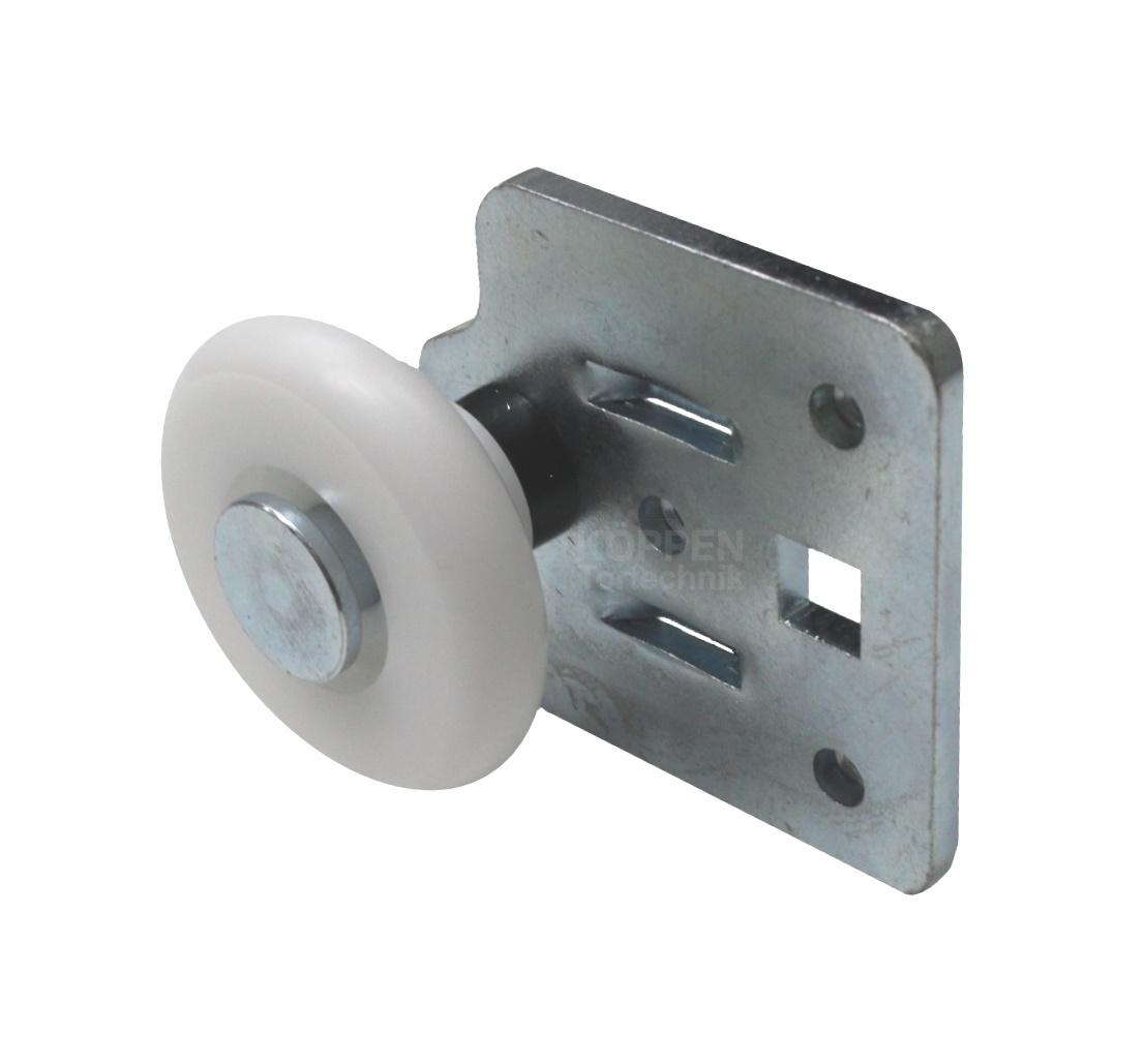 Rollenhalter unten Länge +/- 60 mm für Baureihe LTF rechts /