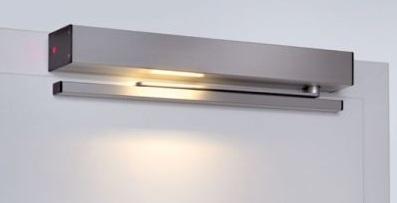Tür Drehflügeltür-Antrieb PortaMatic Silber (E6/EV1) mit
