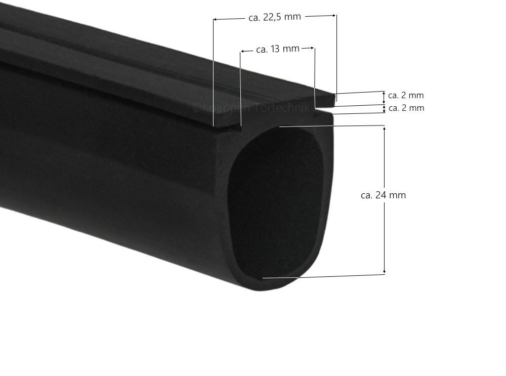 bodendichtung br ltf passend zu h rmann garagen h rmann ersatzteile g nstig f r tore und mehr. Black Bedroom Furniture Sets. Home Design Ideas