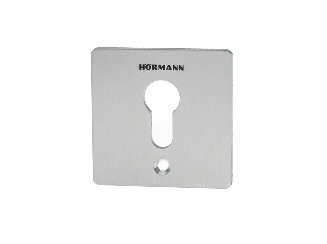 Schlüsselschalter Blende Aluminium für Typ ESA 30 und ESA 40