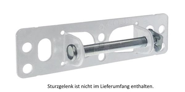 Bolzen für Sturzgelenk mit SL-Sicherung passend zu Hörmann