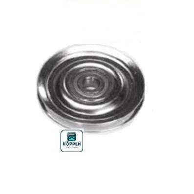 Umlenkrolle / Seilumlenkrolle Ø 68 mm Achsbohrung Ø 9,2 mm