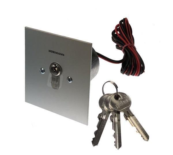 Schlüsseltaster ESU40 Unterputz Impuls Hörmann mit 2 m