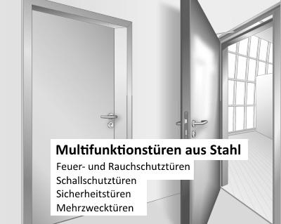 Multifunktionstüren aus Stahl