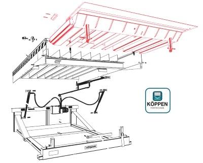 ladebr cken htlv 2 h rmann ersatzteile g nstig f r tore. Black Bedroom Furniture Sets. Home Design Ideas
