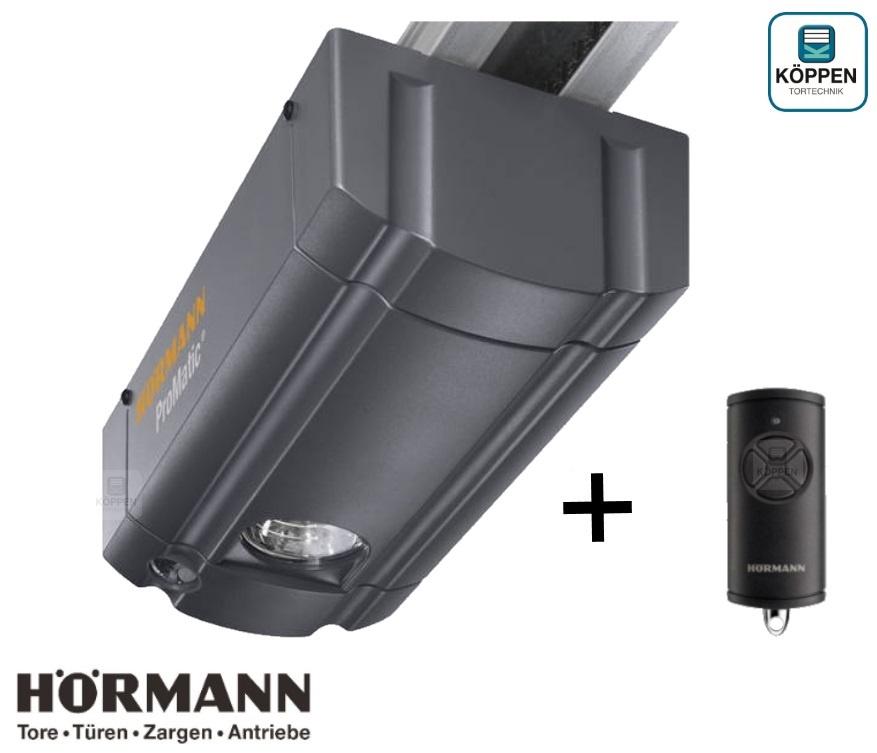 Pro Matic Serie 3 Bisecur Hörmann Garagentorantrieb komplett
