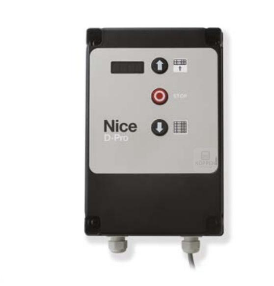 Steuerung D-Pro Automatic komplett mit Gehäuse und 3fach