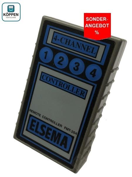 Handsender Elsema FMT-304, 4-Kanal 27.145 MHZ 10 Dipschalter