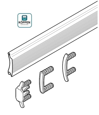Rolltorprofil Decotherm® A passend zu Industrie Rolltor