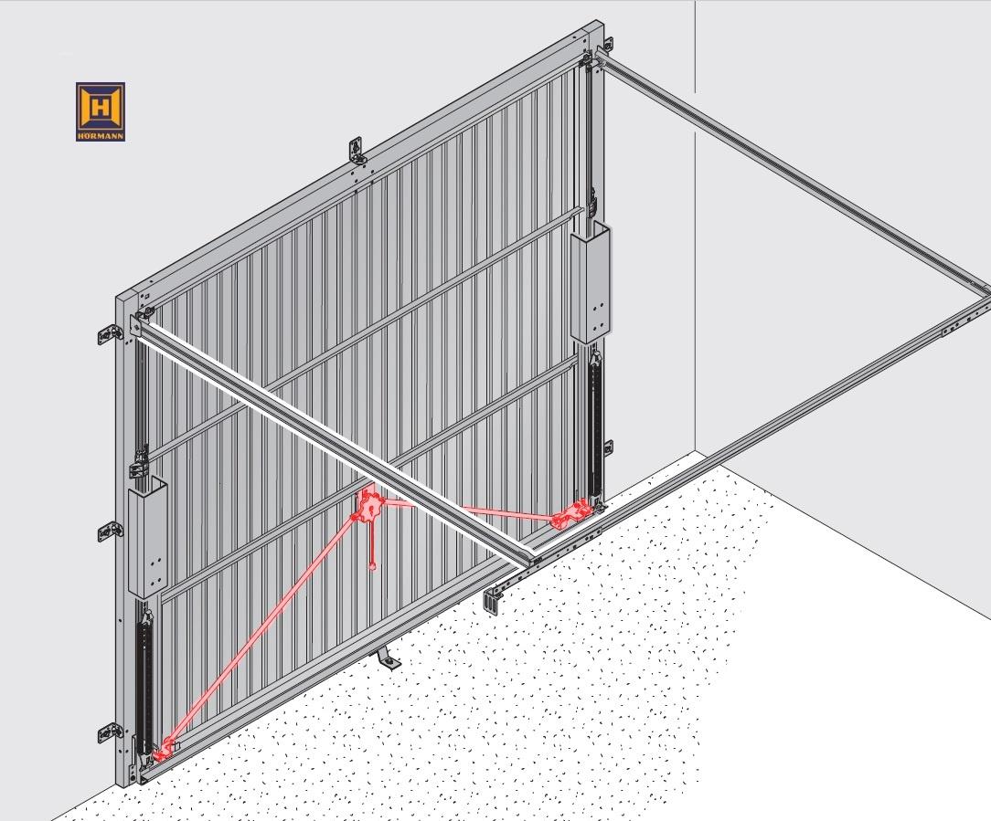 schwingtor ersatzteile h rmann ersatzteile g nstig f r tore und mehr. Black Bedroom Furniture Sets. Home Design Ideas