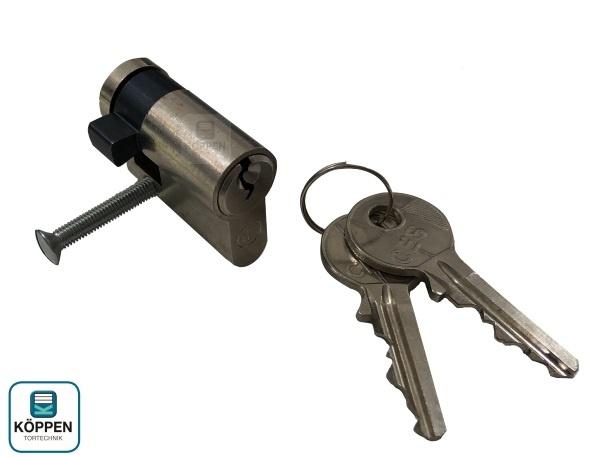 Profilzylinder Halb 30 + 10 mm passend zu Siebau / Novoferm