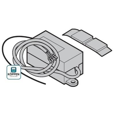 Empfänger 1 Kanal für RC2000A Fernsteuerungen 433,92 MHz