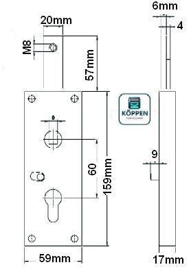 garagentorschloss verriegelung nach oben h rmann ersatzteile g nstig f r tore und mehr. Black Bedroom Furniture Sets. Home Design Ideas
