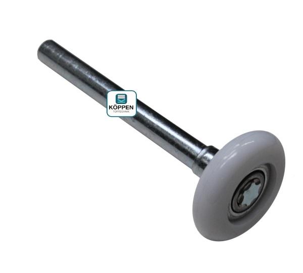 Laufrolle Edelstahl L=+/- 118 mm passend zu Windsor und