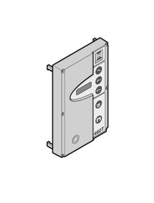 Gehäusedeckel Steuerung 460 T mit Folie und Displayplatine