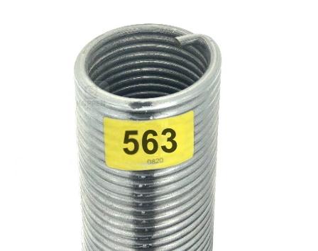 Novoferm Torsionsfeder 563 rechte Wicklung R 50-60-1021