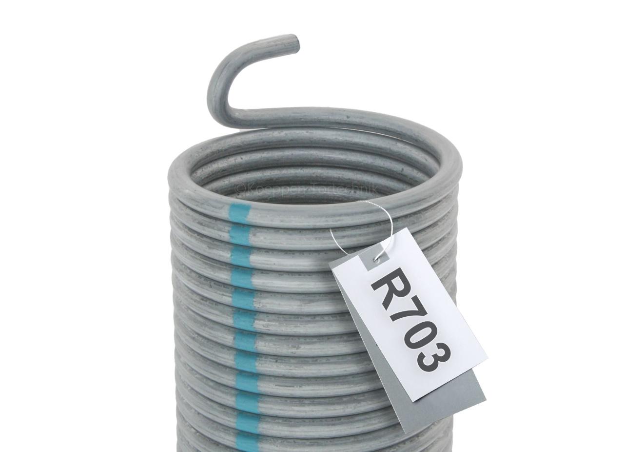 Torsionsfeder Garagentorfeder R703,R22R23 nicht orig.Hörmann