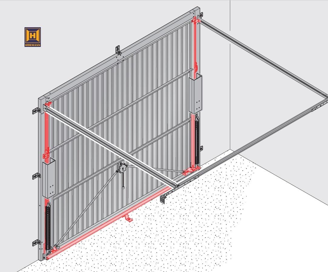 Garagen Hebebuhne Malerei : Hörmann schwingtor ersatzteile wärmedämmung der wände