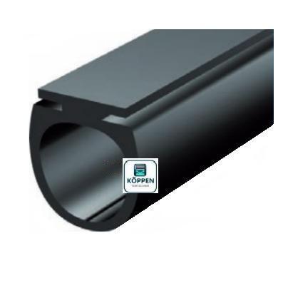 Bodengummi DW für Rolltore Typ Universal mit Mittelaufnahme