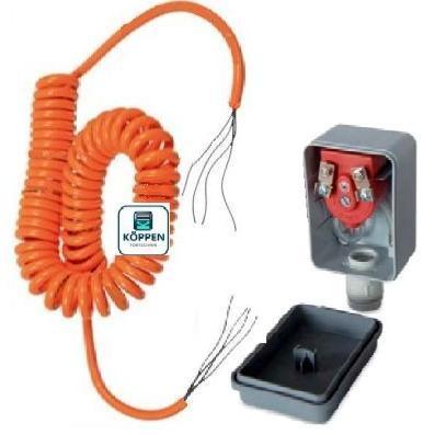 Sicherheits Leisten Set komplett als DW / Druckwellen Anlage