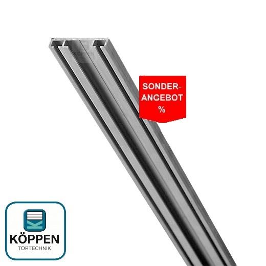 Bodenprofil flach +/- 7mm hoch L=+/- 4400 mm in 4 Teilen