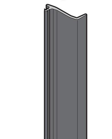 Deckleiste unten für Zargenseitenteil von Hörmann passend