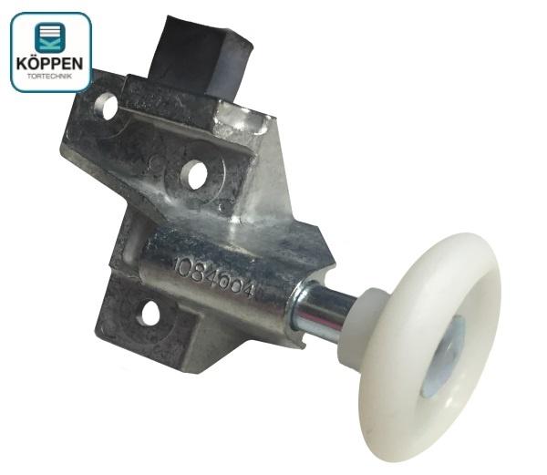 Rollenhalter rechts mit Halter und Stopper zu N80 Schwingtor