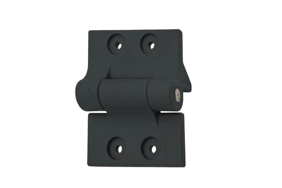 MIttelscharnier komplett Farbe schwarz RAL 7021 (bei Panzer