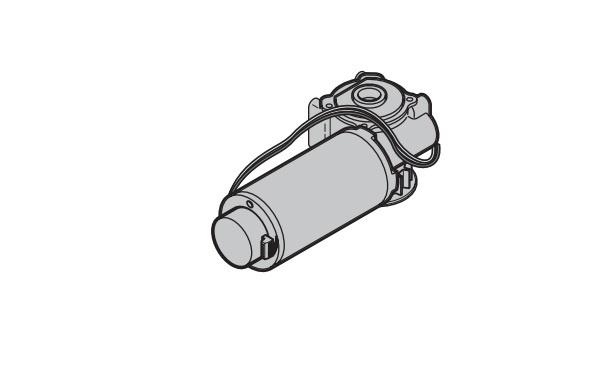 Motor AD-D-100 für Hörmann Schiebetüranlagen
