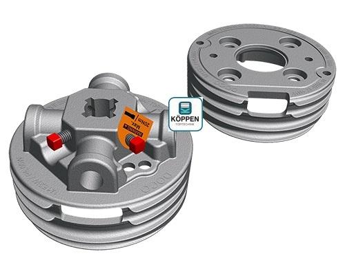 Federspannset Links / Rechts für Innendurchmesser ID 152mm