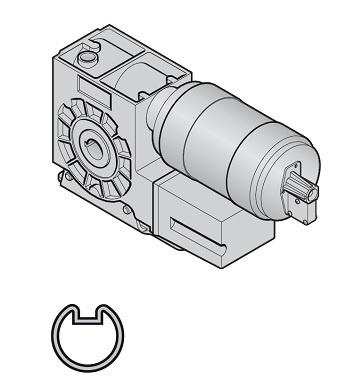 Steckantrieb S18 (AWG,KNH,400D,60% ED,IP65