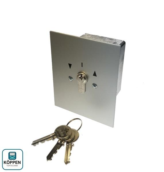 Antrieb Schlüsselschalter UP mit 3 Schlüssel