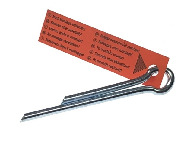 Splint für Federbruchsicherung an Torsionsfedern