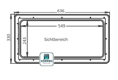 Fenster rechteck kunststoff 2 teilig schraubsystem 639x334 for Garagenfenster kunststoff