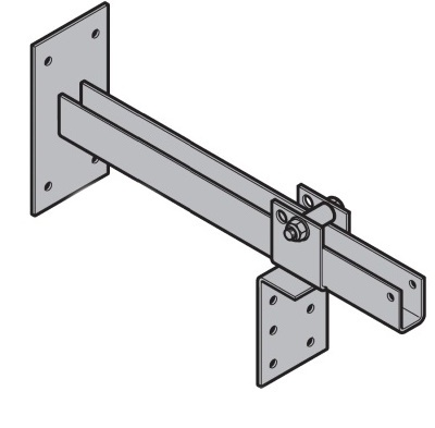 Kragarm für Seilzugschalter 1680-3075 mm ausziehbar